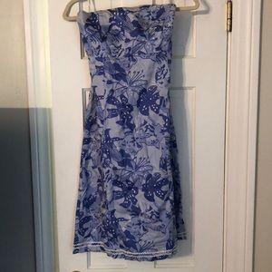 Lilly Pulitzer Sabrina strapless dress size 4